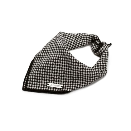 harrington houndstooth dog bandana 3